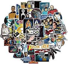 DSSK 50Pcs Movie Stickers Star Trek Graffiti Stickers Suitcase Motorcycle Notebook Waterproof Stickers