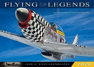 Flying Legends 2020: 16 Month Calendar September 2019 Through December 2020