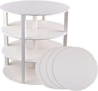 """Strictly Briks Classic Stackable 12"""" Circle Baseplate Brik Tower Building Brick Set 