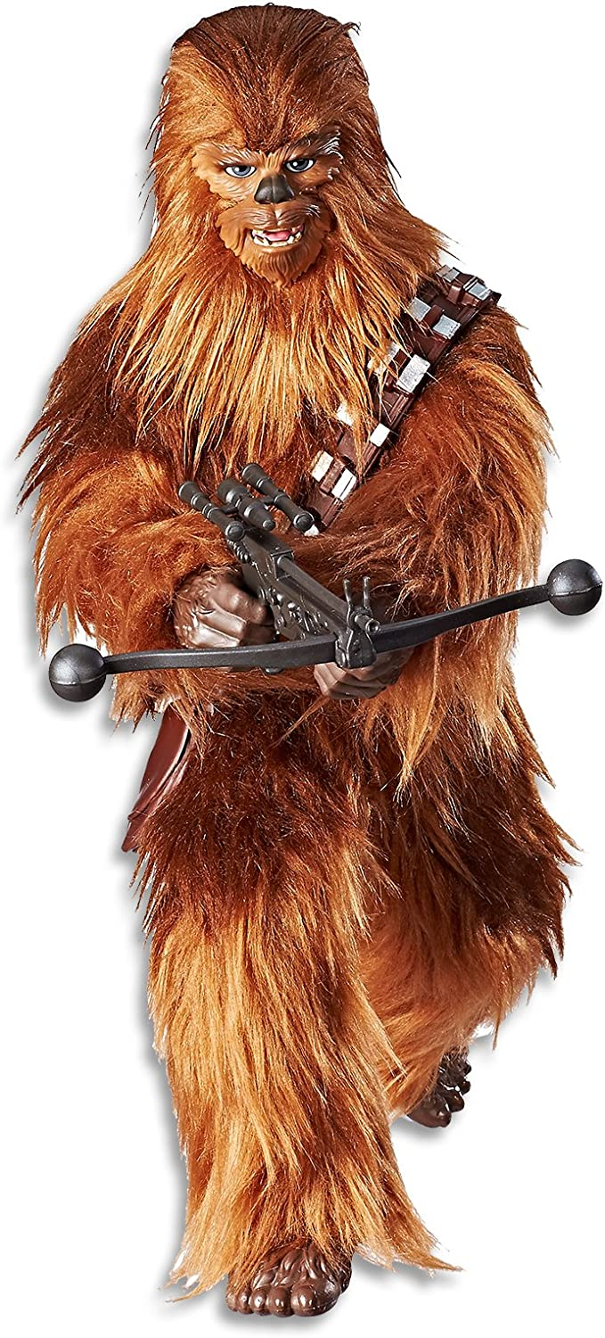 STAR WARS  12  Roaring Chewbacca Action Figure inc 2 Acc  Forces of Destiny  Kids Toys  Ages 4+