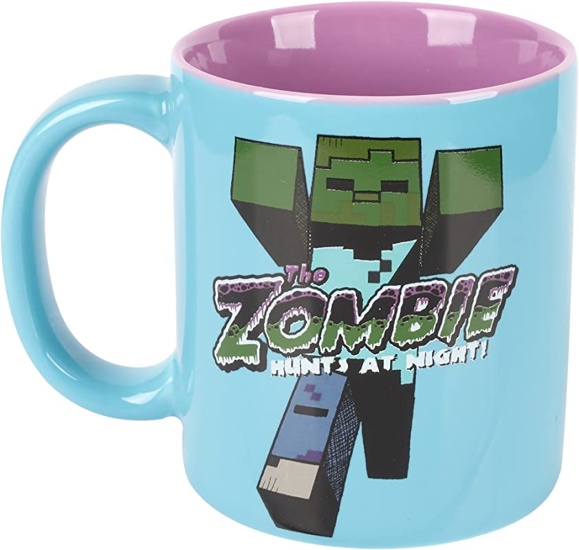 JINX Minecraft Zombie Ceramic Mug 11 Ounces