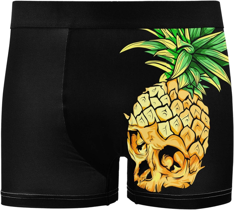 Glaphy Stretch Breathable Men's Underwear Boxer Briefs Fashion Comfortable Underwear for Men S_XXL