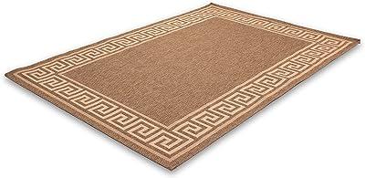 Lalee Finca 347080328 Carpet 80 x 150 cm Coffee / Sweetcorn 502