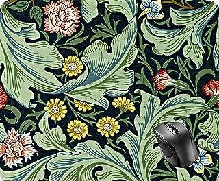 SHAQ William Morris - Leicester Vintage Floral Design Mouse Pad 8.6 X 7.1 in