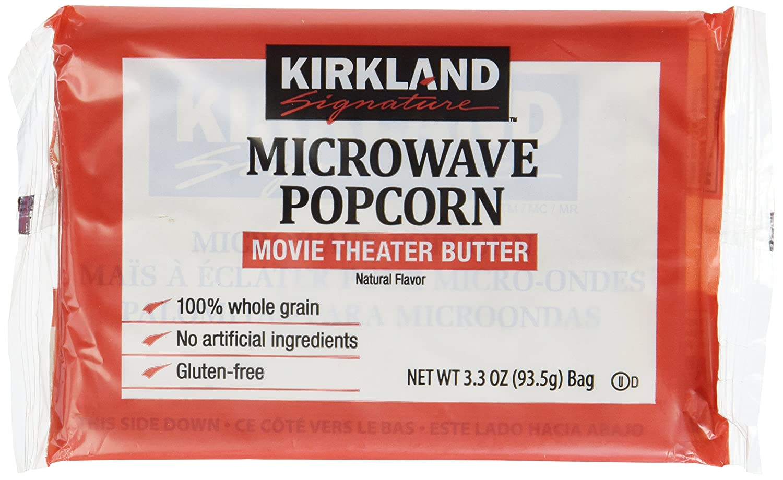 Kirkland Microwave Many popular brands Popcorn 3.3 Ranking TOP10 Ounce - Bags 8