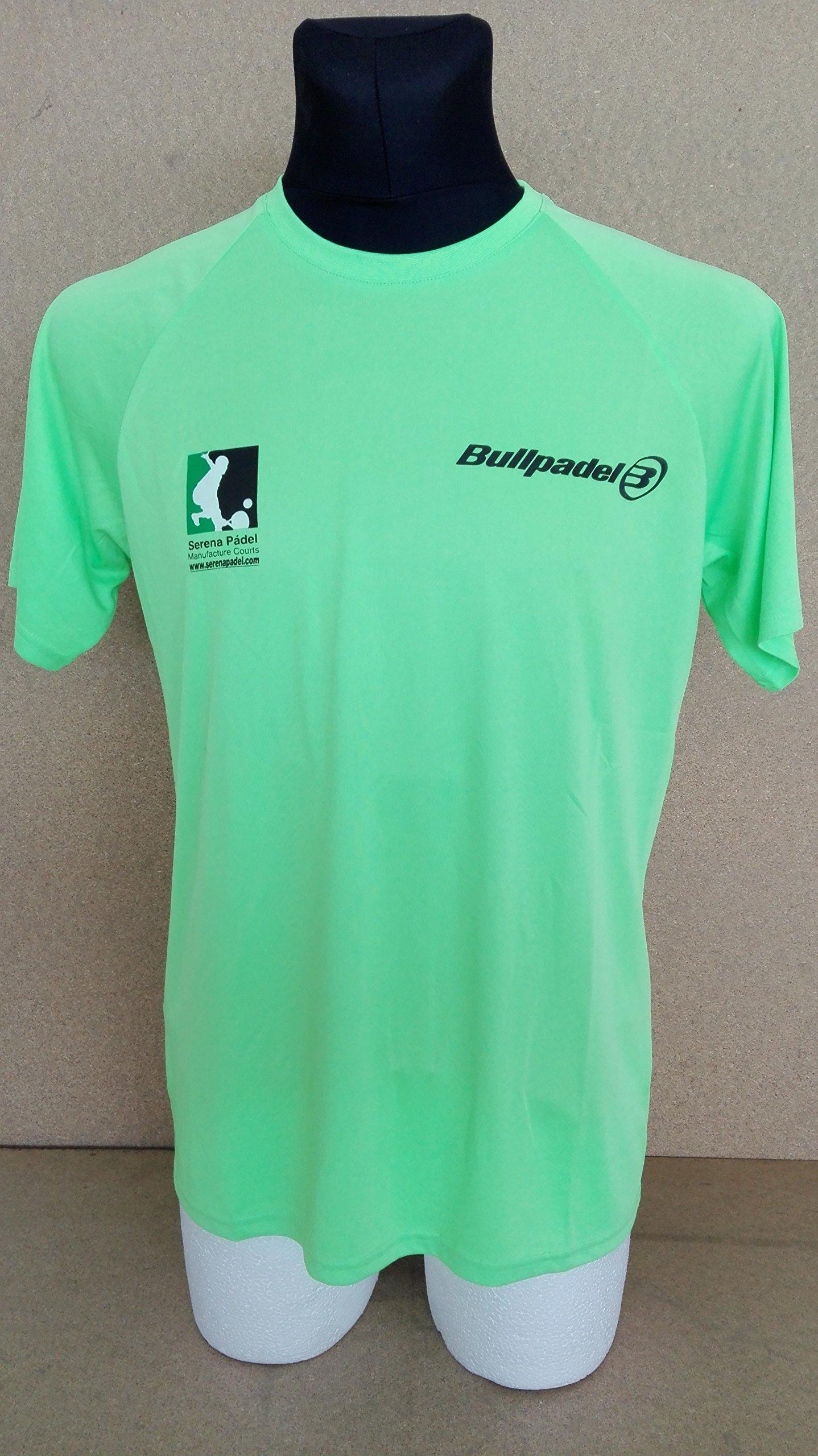 Camiseta BullPadel (L, Verde fluor): Amazon.es: Deportes y aire libre