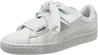 PUMA Basket Heart Os Bold Lace Lace Up Trainer