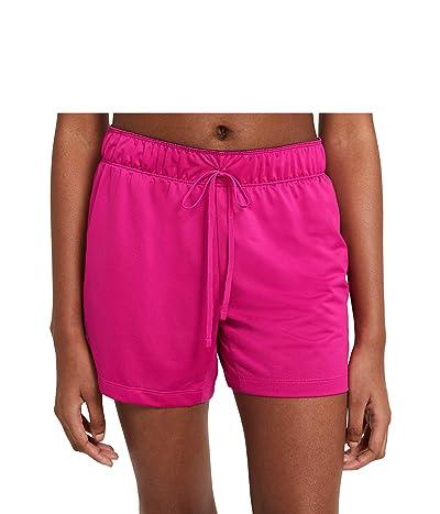 Nike Dry Attack Shorts (Fireberry/Black/Black) Women