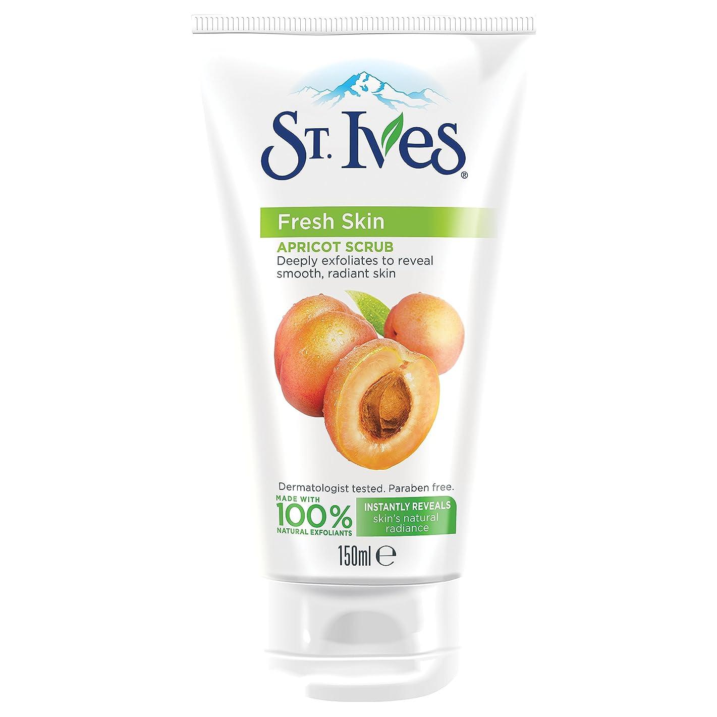 天国動かないウルルSt. Ives 150ml Invigorating Apricot Facial Scrub