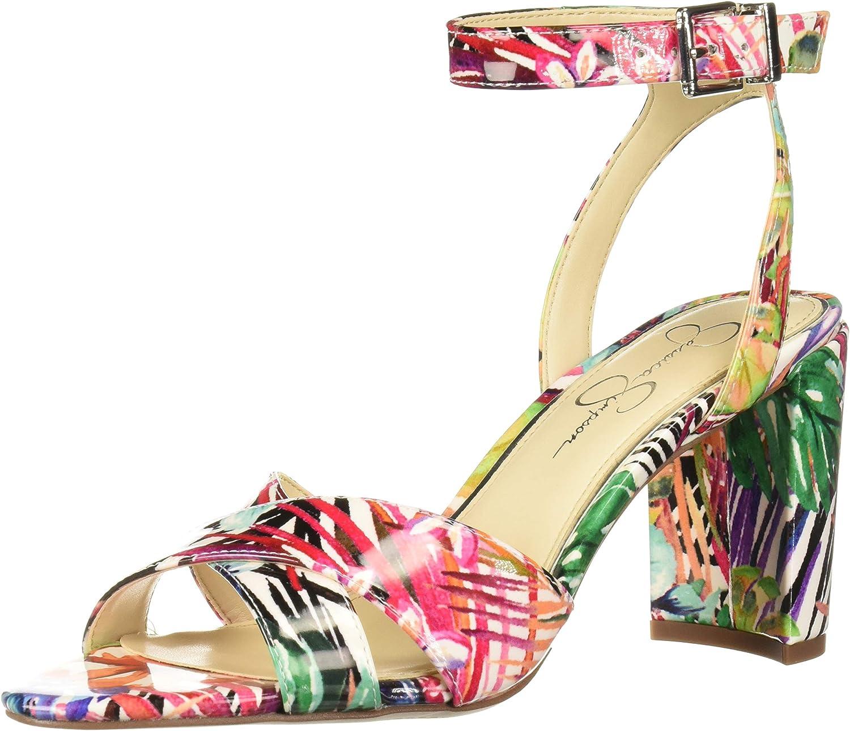 Jessica Simpson kvinnor Niara Heeled Heeled Heeled Sandal  underbar