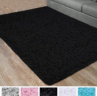 DETUM Soft Bedroom Area Rugs, Fluffy Fur Rug for Living...