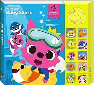 PINKFONG Baby Shark Sound Book, Blue/Yellow