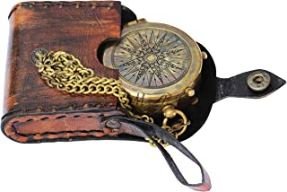 """MAI So You Can Always Find Your Way Back Home"""",Star Dial Camping Compass Engraved with Gift Compass."""