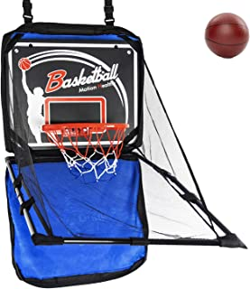 Liberry Mini Basketball Hoop with 2 Small Basketballs, Backboard, Rim, Net, Toy Basketball Shooting Arcade Game, Portable Indoor Outdoor Wall Mounted Basketball Hoop for Toddlers, Kids and Adults