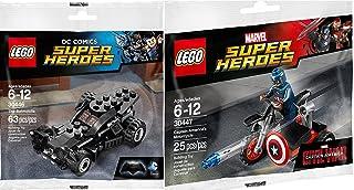LEGO Superhéroes Batmóvil de Batman (30446) + Motocicleta