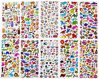 Stickers for Kids 1500, 20 Different Sheets, 3D Puffy Stickers, Scrapbooking, Bullet Journals, Stickers for Adult, Includi...