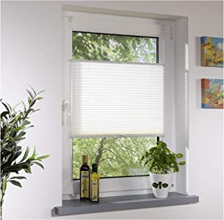 Protection solaire pour plissé bornes BLANC-vue Protection et de protection solaire pour fenêtre