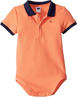 Pique Polo Bodysuit (Infant)