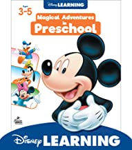 Disney Learning | Magical Adventures in Preschool | Math and Language Arts Workbook, 256pgs