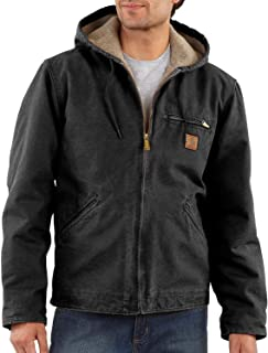 Men's Sherpa Lined Sandstone Sierra Jacket