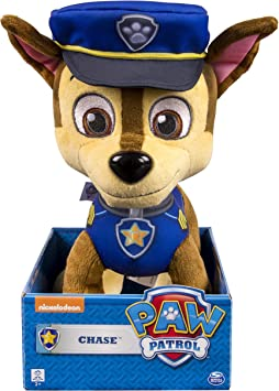 Paw Patrol - 9 - 9cm Plüsch Chase: Amazon.de: Spielzeug