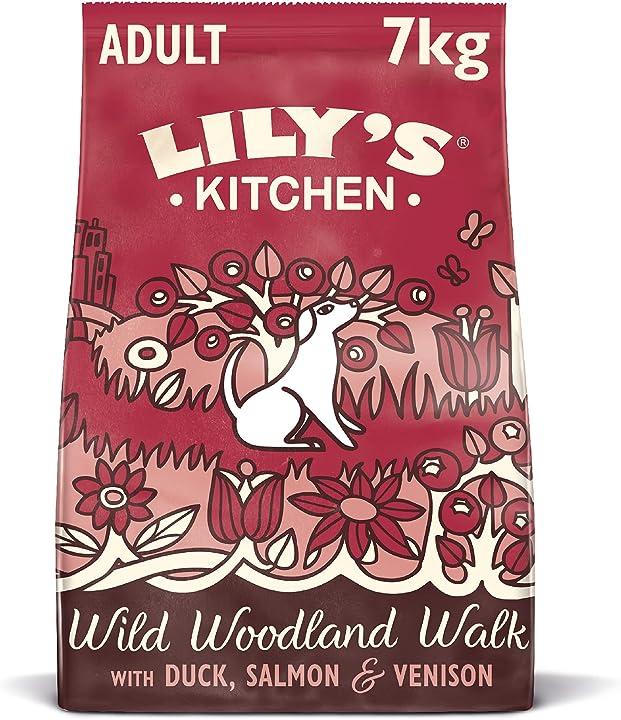Cibo per cani adulti completo di cervo e anatra (7 kg) lily`s kitchen 80471