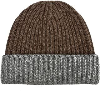 Men Cashmere Lam Beanie Hat Made In Scotland