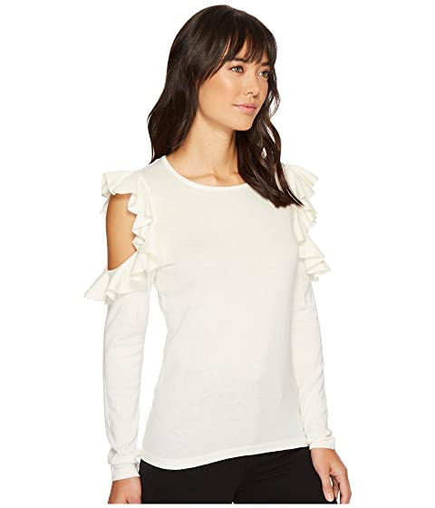 Sweater Exposed Exposed Ruffled Shoulder CeCe Ruffled Ruffled Exposed CeCe Sweater CeCe Shoulder Shoulder XqgSw7x