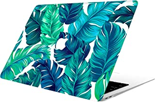 """AOGGY MacBook Air 13 inch Case 2020 2018 2019 New Version A2179/A1932,Tropical Palm Leaves Plastic Hard Shell Protective Case for Newest MacBook Air 13"""" with Touch ID -Tropical Palms Leaves 11"""