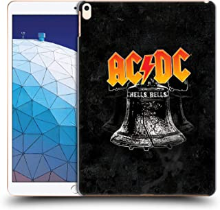 Official AC/DC ACDC Hells Bells Song Titles Hard Back Case Compatible for iPad Air (2019)