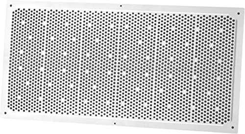 2021 Duraflo wholesale online 641608 Soffit Vent, 16-Inch by 8-Inch, White. Pack of 3 outlet sale