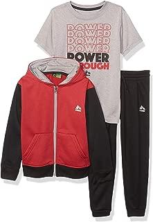 RBX Boys' Fleece Jacket, Tee and Pant Set