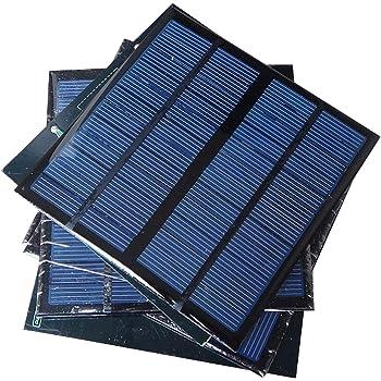Sunnytech 1pc 3W 12V 250ma Mini Small Solar Panel Module DIY Polysilicon Solar Epoxy Cell Charger B047