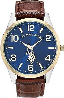 Men's Quartz Watch with Alloy Strap, Brown, 16 (Model:...