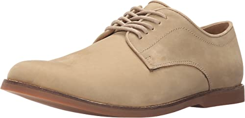 Sebago Men& 039;s Norwich Oxford, Taupe Nubuck, 10 M US