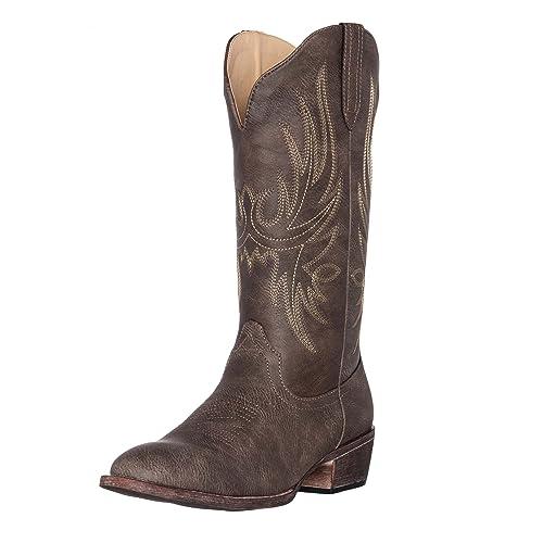 6ad9fb21af4 Synthetic Women's Cowboy Boots: Amazon.com