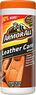 Armor All 18581B Leather Care Wipe (30 count)