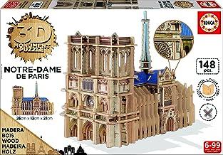 Educa Borrás - Notre Dame, Puzzle 3D (16974)