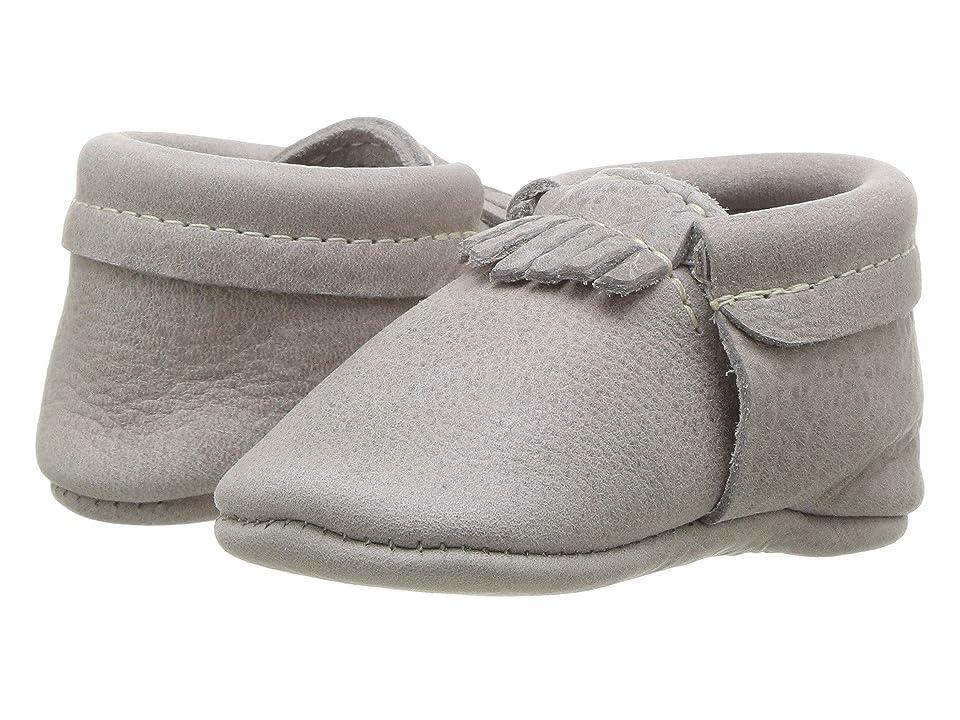 Freshly Picked Soft Sole City Moccasins (Infant/Toddler) (Salt Flats) Kids Shoes