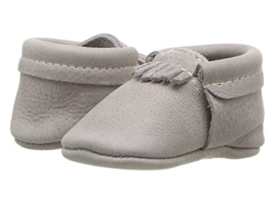 Freshly Picked Soft Sole City Moccasins (Infant/Toddler) (Salt Flats) Kids Shoes