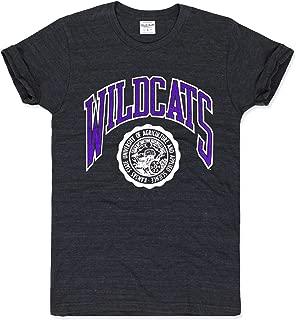 Charlie Hustle Unisex Collegiate Kansas State Seal T-Shirt