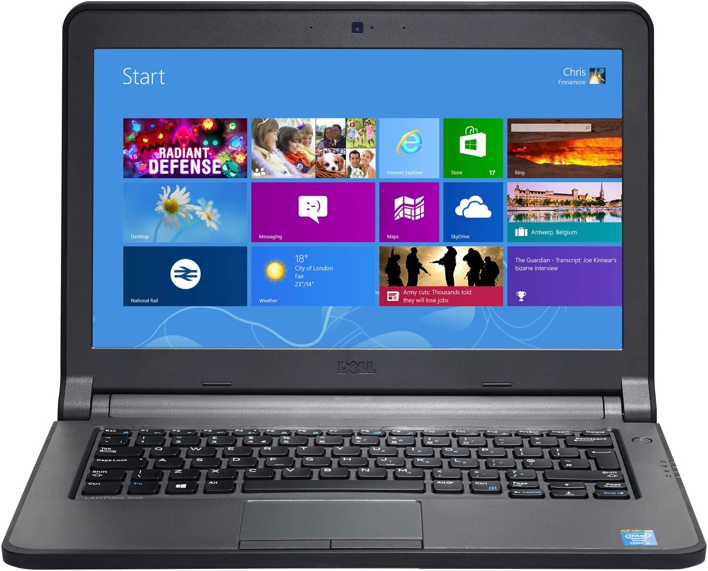 Dell Latitude 3340 13in HD LED Backlit High Performance Laptop Computer, Intel Core i5-4200U up to 2.6GHz, 8GB Memory, 500GB HDD, USB 3.0, HDMI, Windows 10 Professional (Renewed)