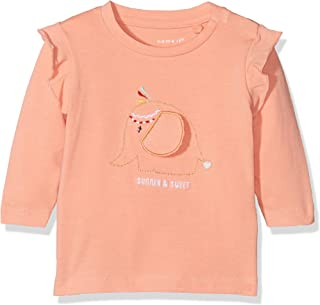 NAME IT Baby-M/ädchen Langarmshirt Nitsara Ls Top Mznb