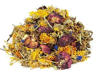 Mr. Crumble Dried Pet Food getrocknete Blüten-Kräuter-Mischung getreidefrei, für Kaninchen, Meerschweinchen, Degus, 1000g
