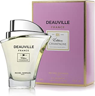 Michel Germain Deauville France Champagne Edition Perfume, Perfect Gift for Women, 2.5 Fl Oz