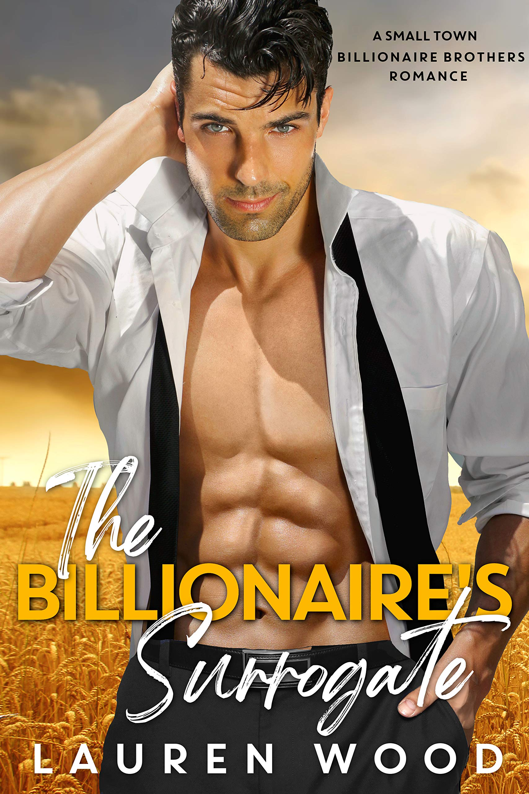 The Billionaire's Surrogate (A Small Town Billionaire Brothers Book 3)