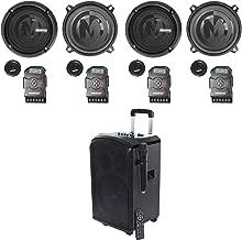 (2) Pairs Memphis Audio PRX50C 5.25