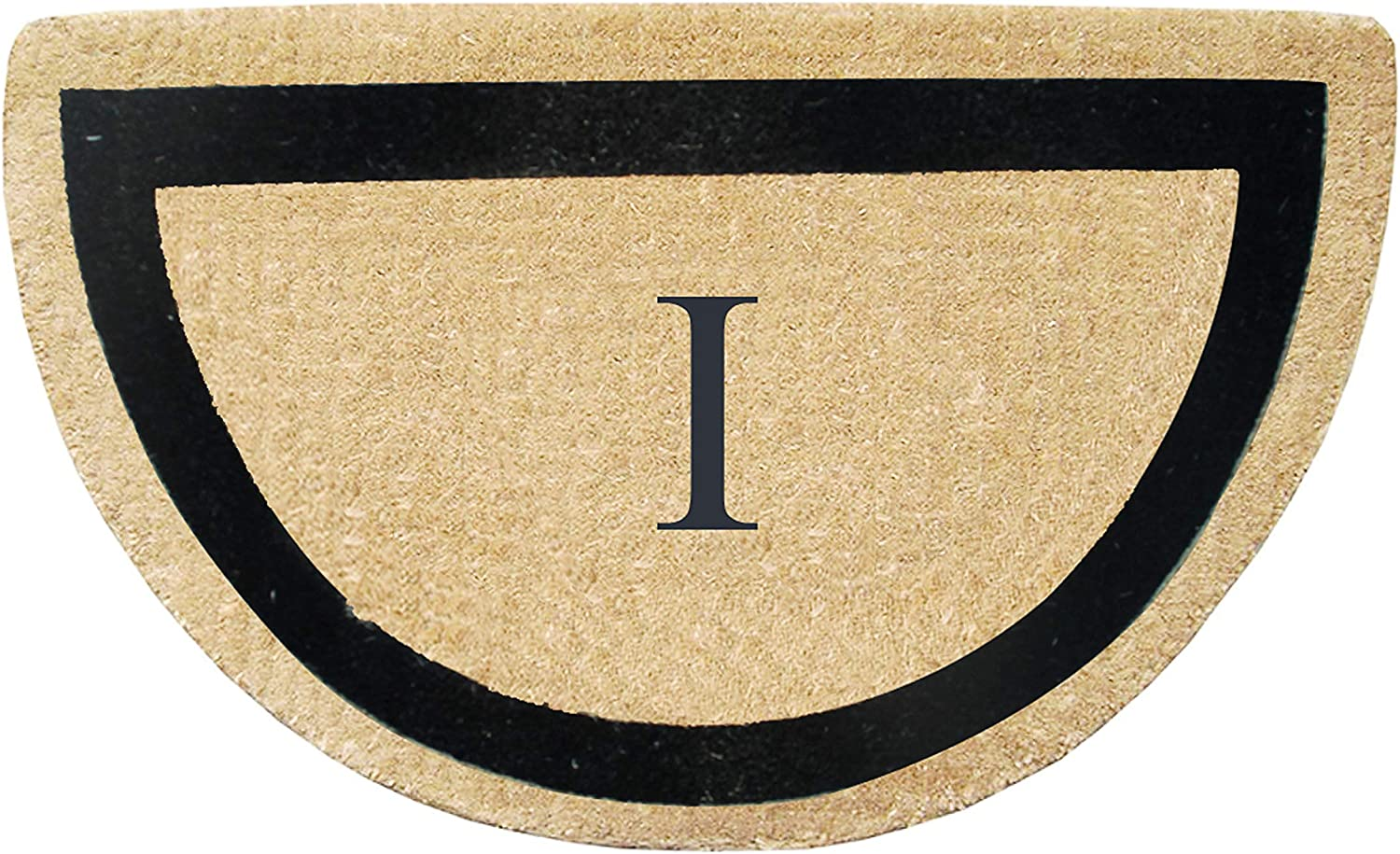 A1 HOME COLLECTIONS First Impression A1HC Engineered Half Round Coir Doormat, 24 x36 (PT2004I)