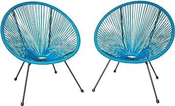 : chaises en fil plastique