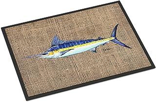 Caroline's Treasures 8773JMAT Fish - Marlin Indoor or Outdoor Mat 24x36 Doormat, 24H X 36W, Multicolor